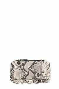 RED Valentino Clutch In Grey Leather