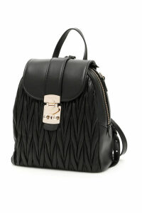 Miu Miu Matelasse Backpack