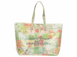 Marc Jacobs The Comic Stripe Tote Shopping Bag