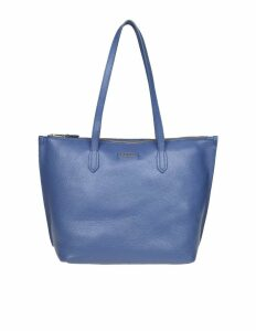 Furla M Lighting Leather Shopping Color Blue