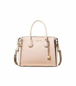 Michael Kors Medium Mercer Tricolor Satchel Bag