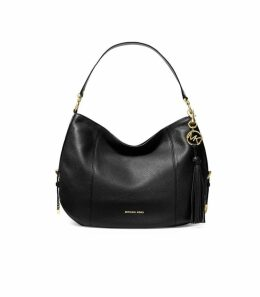 Michael Kors Brooke Black Large Shoulder Bag