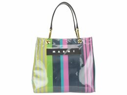 Marni Glossy Grip Shopping Bag