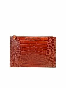 Givenchy Antigona M Crocodile Print Clutch