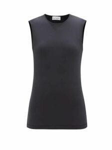 Burberry - Haima Pussy Bow Jersey Midi Dress - Womens - Red