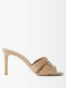 Loewe - Striped Cotton Rugby Shirtdress - Womens - Red Multi