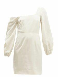 Racil - Debbie Moiré Mini Dress - Womens - Cream