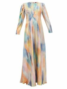 Sies Marjan - Virginia Silk Twill Gown - Womens - Multi