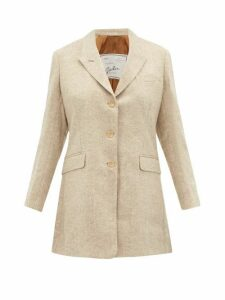 Giuliva Heritage Collection - The Karen Single Breasted Wool Blazer - Womens - Cream