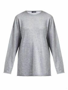 Joseph - Oversized Cashmere Sweater - Womens - Grey