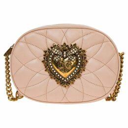 Dolce & Gabbana Leather Cross-body Messenger Shoulder Bag Camera Bag Devotion