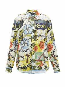 Martine Rose - Jamaica Print Linen Shirt - Womens - Multi