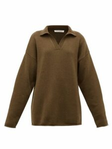 Extreme Cashmere - No.101 Jules Cashmere Blend Sweater - Womens - Brown