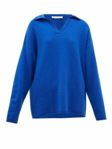 Extreme Cashmere - No.101 Jules Cashmere Blend Sweater - Womens - Blue