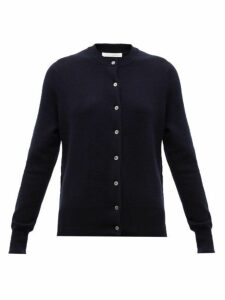 Extreme Cashmere - No. 99 Little Cashmere Blend Cardigan - Womens - Navy