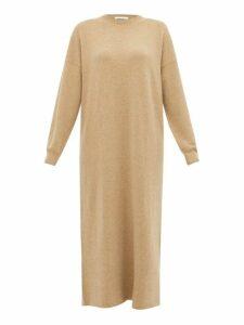 Extreme Cashmere - No. 106 Weird Cashmere Blend Dress - Womens - Camel