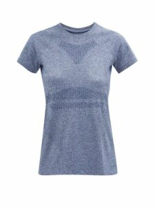 Lndr - Quest Performance T Shirt - Womens - Light Blue