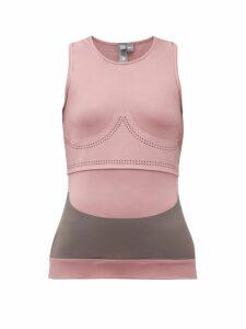 Adidas By Stella Mccartney - Fitsense+ Performance Tank Top - Womens - Pink