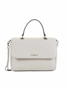 Charloette Chevron Quilted Leather Crossbody Bag