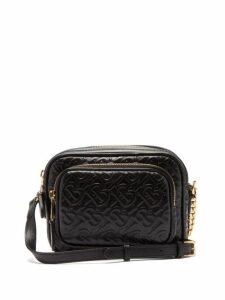 Burberry - Tb Leather Camera Cross Body Bag - Womens - Black