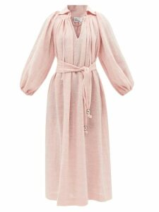 Jil Sander - Knotted Handle Leather Bag - Womens - Black
