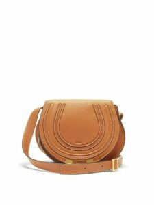 Chloé - Marcie Mini Leather Cross Body Bag - Womens - Tan