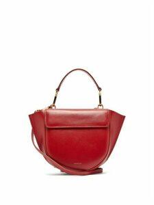 Wandler - Hortensia Mini Leather Cross Body Bag - Womens - Red