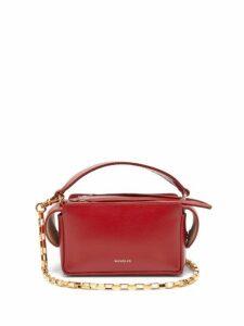 Wandler - Yara Mini Smooth Leather Cross Body Bag - Womens - Red