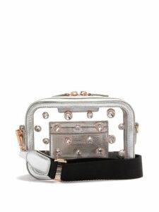 Sophia Webster - Dina Crystal Embellished Cross Body Bag - Womens - Silver