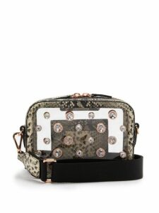 Sophia Webster - Dina Crystal Python Effect Leather Camera Bag - Womens - Python