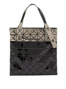 Bao Bao Issey Miyake - Platinum Mermaid Two Tone Tote Bag - Womens - Black Multi