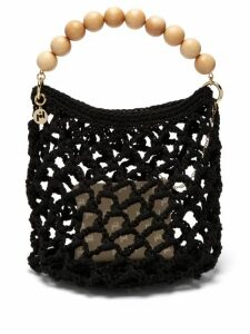 Rosantica By Michela Panero - Polaris Knitted Tote Bag - Womens - Black Multi