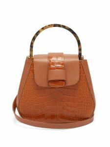 Nico Giani - Myria Leather Cross Body Bag - Womens - Tan