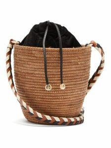 Cesta Collective - Lunchpail Sisal Basket Bag - Womens - Tan Multi