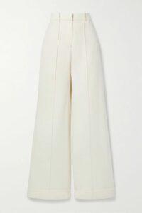 Valentino - Valentino Garavani Vring Textured-leather Clutch - Blush