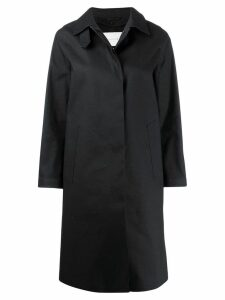 Mackintosh DUNKELD Black Bonded Cotton 3/4 Coat LR-1001D