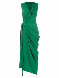 Uma Raquel Davidowicz Cache-cour draped dress - Green