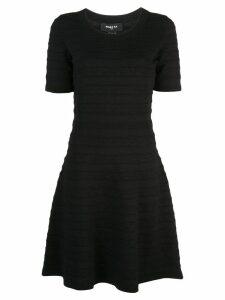 Paule Ka flared mini dress - Black
