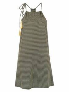 Track & Field lace up dress - Green