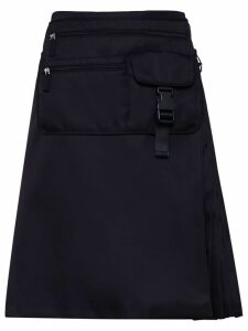 Prada multi-pocket belt bag skirt - Black