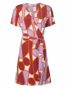 Diane von Furstenberg Savilla wrap dress - Purple