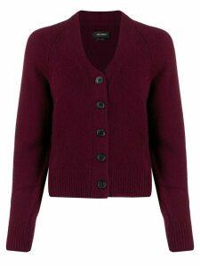 Isabel Marant cashmere cardigan - Purple