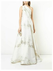 Rubin Singer one-shoulder evening dress - White