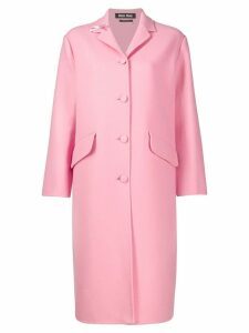 Miu Miu single-breasted coat - Pink