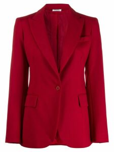 P.A.R.O.S.H. classic fitted blazer - Red