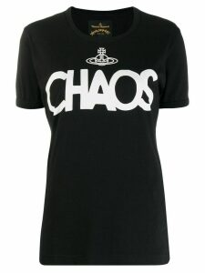 Vivienne Westwood Anglomania Chaos print T-shirt - Black