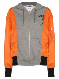 Moschino hooded logo sweatshirt - Multicolour