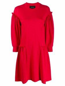 Simone Rocha frill flared longsleeved dress