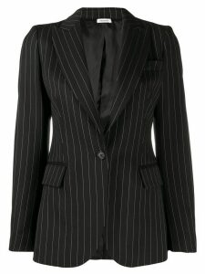 P.A.R.O.S.H. striped single-breasted blazer - Black