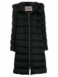 Herno padded hooded coat - Black
